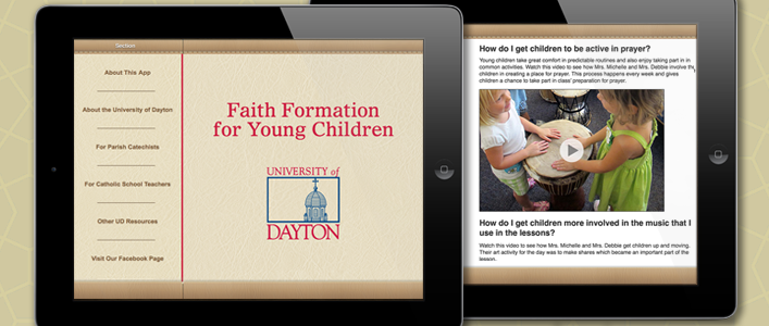 University of Dayton iPad App