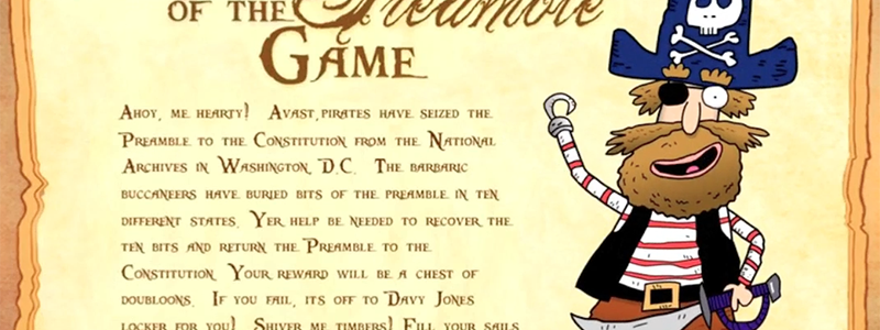 Pirates of the Preamble Game